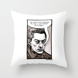 Peter Stillman Throw Pillow