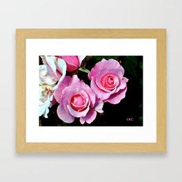 Duo Florum Framed Art Print