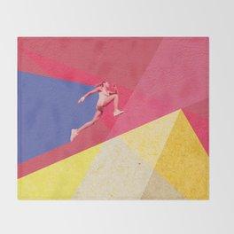 human dynamic #5 Throw Blanket