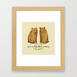 Beary Lovely Framed Art Print