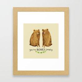 Beary Lovely Framed Art Print