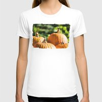 vegetable T-shirts featuring  autumn vegetable by Karl-Heinz Lüpke
