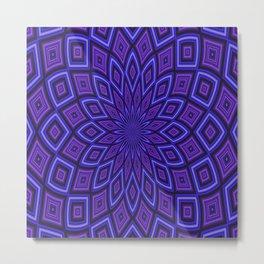 Purple Moroccan Metal Print