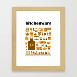 kitchenware Framed Art Print
