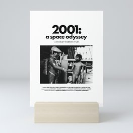 2001: A Space Odyssey Behind the Scenes Movie Poster Mini Art Print