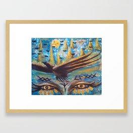 Goddess Freyja  Framed Art Print