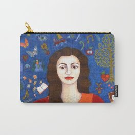 "Violeta Parra - ""Thanks to Life "" Carry-All Pouch"