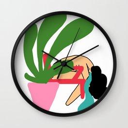 crying Wall Clock