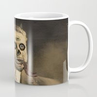satan Mugs featuring Satan by Beery Method