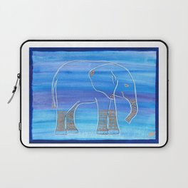 Elephant Decorated Laptop Sleeve