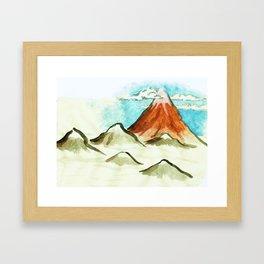 clearer air Framed Art Print