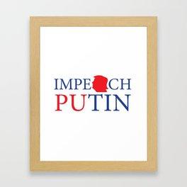 Impeach Putin Framed Art Print