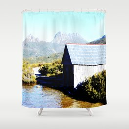 The Boat House Shower Curtain
