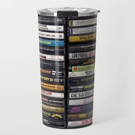 Old 80's & 90's Hip Hop Tapes Travel Mug