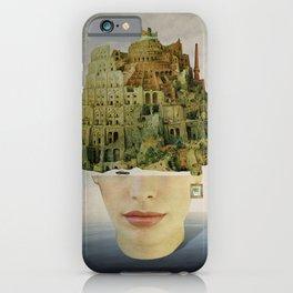 Miss Babel iPhone Case
