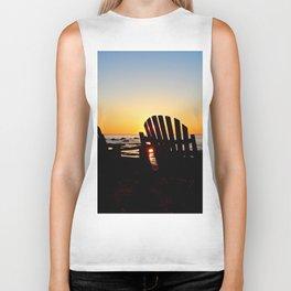 Dream Seats at Sunset Biker Tank