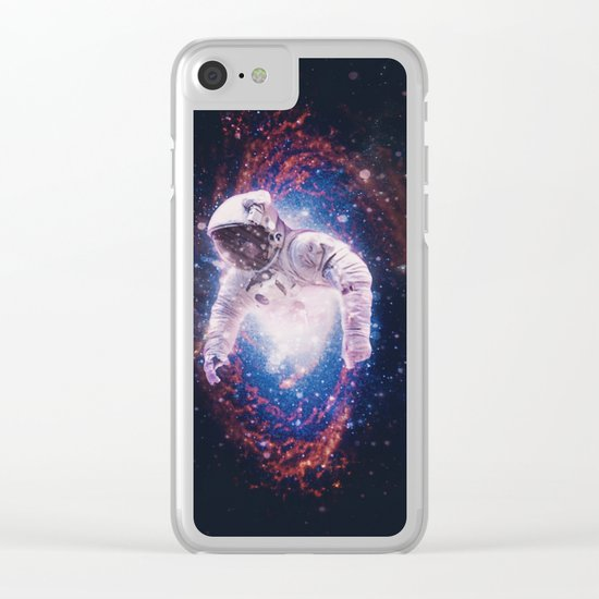 Between Dimensions Clear iPhone Case