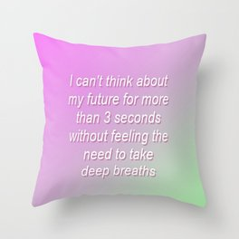 Gradient 2 Throw Pillow