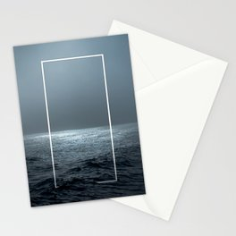 Twilight Geometry Stationery Cards
