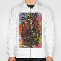 Watercolor Illusion  Hoody