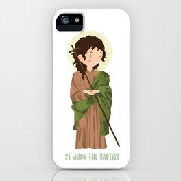 Sant John The Baptist iPhone Case