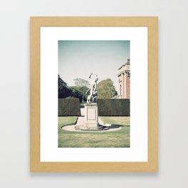 Manor Detail Framed Art Print