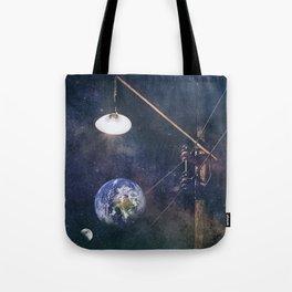 Earth hour Tote Bag