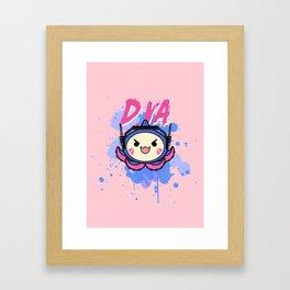 D.va Pachimari Framed Art Print