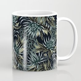 Hidden Creatures - Grey / Khaki Coffee Mug