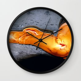 Boots of Gold Wall Clock