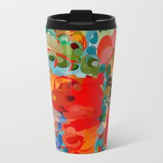color bubble storm Metal Travel Mug