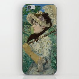 Edouard Manet - Spring iPhone Skin