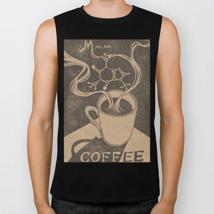 Mmm... Coffee Biker Tank