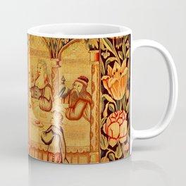 Jesus with Mary Magdalene 16th Century German Tapestry Coffee Mug