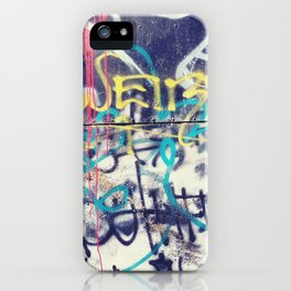 Fallout Shelter Graff. iPhone Case