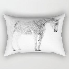 Fleabit Arabian Horse Rectangular Pillow