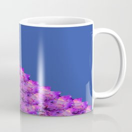 Celebration with Streamers 2nd Half Blue Fluid Abstract 44 Coffee Mug
