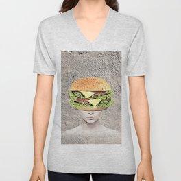 Burger Vision Unisex V-Neck