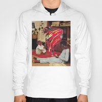 tv Hoodies featuring Television by Lerson