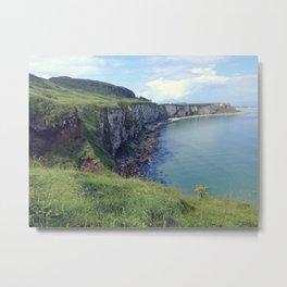 Landscape | Ireland | Irish Coast Metal Print