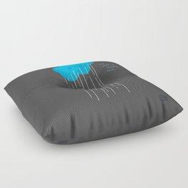 It's Just A Little Rain Floor Pillow