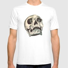 Skulls Mens Fitted Tee White MEDIUM