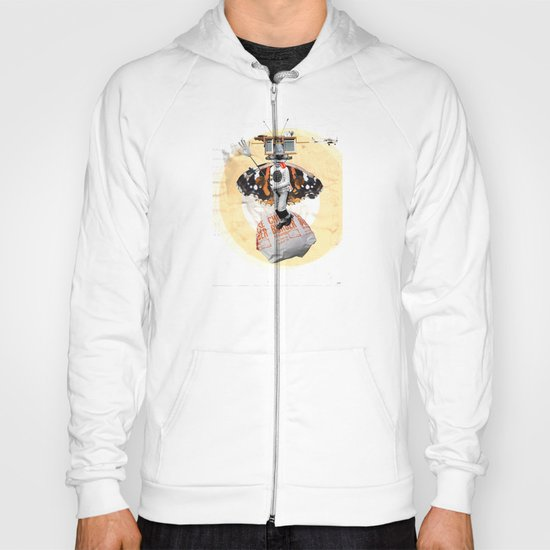 Satisfaction - WhiteVersion - DogKidCollage Hoody