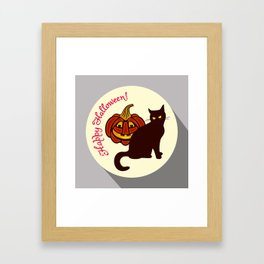 Happy Halloween! Framed Art Print