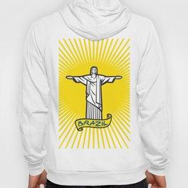 Christ the Redeemer statue in Rio de Janeiro, Brazil Hoody