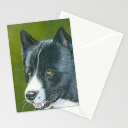 Karelian beardog Stationery Cards