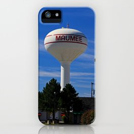 Maumee Water Tower iPhone Case