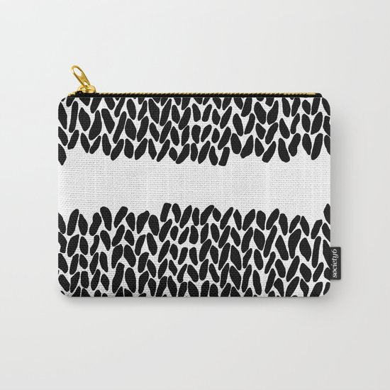 Missing Knit Carry-All Pouch