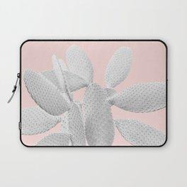 White Blush Cacti Vibes #1 #plant #decor #art #society6 Laptop Sleeve