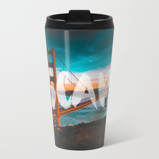 ESCAPE San Francisco Metal Travel Mug